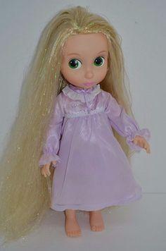 "Disney Tangled Rapunzel Animators 16"" Doll 1st Edition Tinsel Hair RARE  #DisneyStoreexclusive1stEdition #Dolls http://stores.ebay.com/Lost-Loves-Toy-Chest"