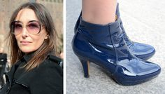 Francesca loves her glossy city walkers Scouts, Love Her, Peeps, Peep Toe, Oxford Shoes, Street, City, Women, Fashion