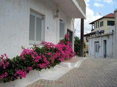Greece Crete streets of Koutouloufari