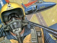 Buck Danny with the Blue Angels