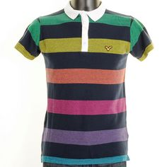 Voi Nate Polo T Shirt in Navy.