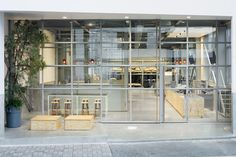 Blue Bottle Coffee Kiyosumi-Shirakawa Roastery & Café by Schemata Architects, Tokyo – Japan » Retail Design Blog