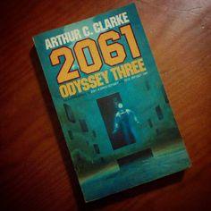 #arthurcclarke #odissey2061 #scifi #book #stanleykubrick #2061odisseythree