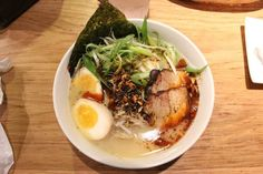 Spicy Ramen With Boiled Egg at Totto Ramen | 17 Mind-Blowingly Delicious Noodles To Try In NYC