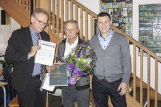Hæderspris til Jens Pist for et kæmpe arbejde i HIC