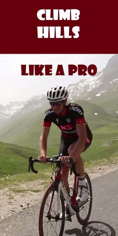 THIS IS HOW YOU CAN CLIMB LIKE A PRO: http://thecyclingbug.co.uk/bugfeed/videos/b/weblog/archive/2015/04/14/climb-like-a-pro.aspx?utm_source=Pinterest&utm_medium=Pinterest%20Post&utm_campaign=ad Look into the secret of climbing hills effectively - straight from the pro's. #thecyclingbug #cycling #bike #hills #bicycle