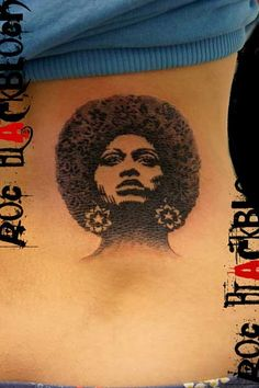 My name sake, Angela Davis.  Would like to have a tatt of her sometime this year.