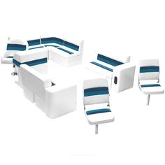 Best fishing pontoon boat seat groups on sale now! Quality pontoon boat seats by Wise are in stock and ship for FREE! Fishing Boat Seats, Sit In Fishing Kayak, Fishing Pontoon Boats, Saltwater Fishing, Bass Fishing, Pontoon Furniture, Boat Furniture, Furniture Sets, Leather Furniture