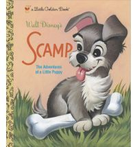 """Based on the sequel to the classic animated film """"Lady and the Tramp,"""" this Little Golden Book follows Lady and Tramp's son, Scamp, on an adventure. Full color."""