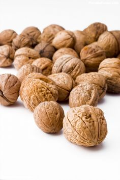 Poster of Walnuts, Food Posters, #poster, #printmeposter, #mousepad, #tshirt