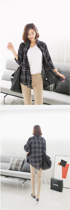 trendy plaid shirts  #shirts #plaid #KOODING.com