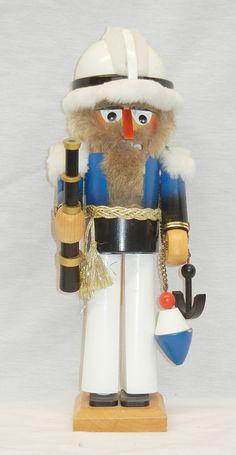 Vintage Steinbach German nutcracker sailor .