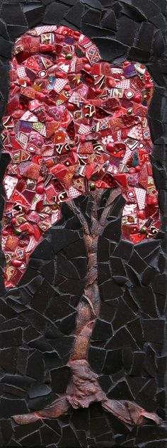 Red Tree (sold)   Flickr - Photo Sharing!