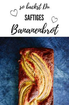 Es muss nicht immer Kuchen sein: Heute lümmelt sich ein saftiges Bananenbrot in unserem Backofen.Bananenbrotist die Rettung für Bananen, die schon nicht mehr besonders ansehnlich sind, die man aber trotzdem nicht guten Gewissens einfach wegwerfen möchte. Für ein saftiges Bananenbrot sind genau diese Exemplare ideal! Sweet Bakery, Pampered Chef, Fabulous Foods, Cake Cookies, Yummy Cakes, How To Make Cake, Easy Peasy, Main Dishes, Good Food