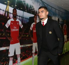 Andreas Pereira of Manchester United arrives ahead of the FA Cup Fourth Round match between Arsenal and Manchester United at Emirates Stadium on January 2019 in London, United Kingdom. Get premium, high resolution news photos at Getty Images London United, Manchester United, Fa Cup, London England, Arsenal, United Kingdom, January, Image, Pereira