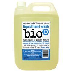 Bio-D Οικολογικό Βιοδιασπώμενο Αντιβακτηριδιακό Υγρό Σαπούνι Χεριών 5LT - Sunnyside Safe Cleaning Products, Hand Washing, Fragrance, Perfume