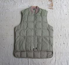vintage c. 1970s Woolrich olive drab down vest by MouseTrapVintage, $42.00