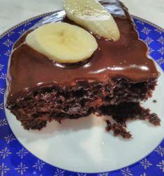 Κέικ με κρέμα και βύσσινο Pudding, Desserts, Food, Tailgate Desserts, Deserts, Custard Pudding, Essen, Puddings, Postres