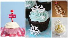 10 Cheery Christmas Cupcake Ideas