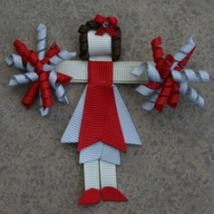 buckeye crafts | Buckeye Cheerleader bow! I have to have this for the ... | Crafts