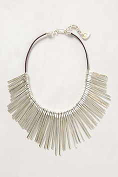 Anthropologie - Root-Needles Necklace