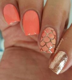 Awesome Spring Nails Design for Short Nails