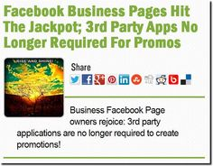 Did you hear about yesterday's #Facebook business page/fan page competition update? It's now 'way easier to run 'em!