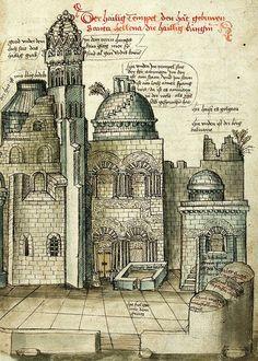 Conrad Grunenberg - Beschreibung der Reise nach Jerusalem von Konstanz (c. 1487).