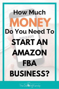 Find out just how much money you need to start your Amazon FBA business!  Hint:  It's not as much as you think...