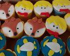 Mini Cupcake pequeno príncipe