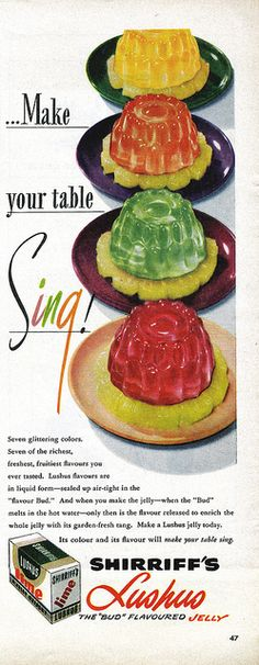 Make Your Jello Sing!