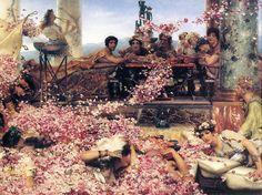 Medien Viktorianische Kunst in Madrid: Rosen von Heliogabalus ...