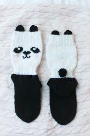 banda knitting Knitting Socks, Panda, Fashion, Knit Socks, Moda, Fashion Styles, Fashion Illustrations, Pandas