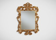 Ornately Carved Mirror - Ethan Allen