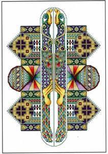 Vickery Collection The Labyrinth Cross Stitch Pattern