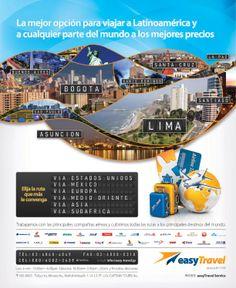 Easy Travel | Clasificados Ohayou Peru Easy Travel La Mejor opción para viajar a latinoamerica y cualquier parte del mundo a los mejores precios