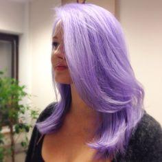 #tukkataikoja! #ColorMaskPaint #kcprofessional #kcteam #lavender #pastel #hair #tulossatammikuussa
