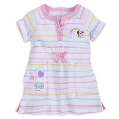 e2260e482db8 Amazon.com  Minnie Mouse Disney Swim Cover-up for Girls White  Clothing