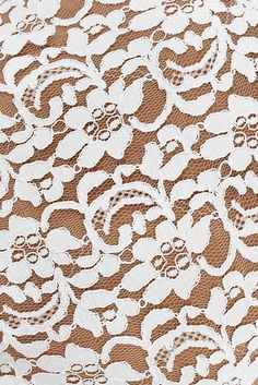 With notions of the romantic coupling of insect and flower, this thick textured lace features three tightly interwoven motifs that flirt together in its weave. Read more at www.avadelaflor.blogspot.co.uk