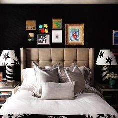 1000 Images About Black Walls On Pinterest Black Walls Dark Walls