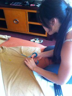 DIY Pocahontas Costume for Under $5 Tutorial | Blogilates
