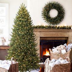 Fake Christmas Tree Ideas - GORGEOUS Artificial Christmas Tree That Looks SO Real!