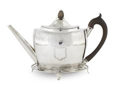 Tea Pots, Auction, Silver, Tea Pot, Tea Kettles, Money