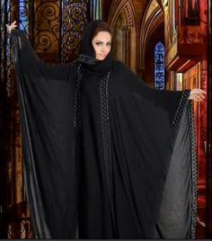 New khaleeji abayas Butterfly Abaya, Butterfly Effect, Khaleeji Abaya, Arabic Dress, Abaya Fashion, Abayas, Kaftan, Hijabs, African Fashion