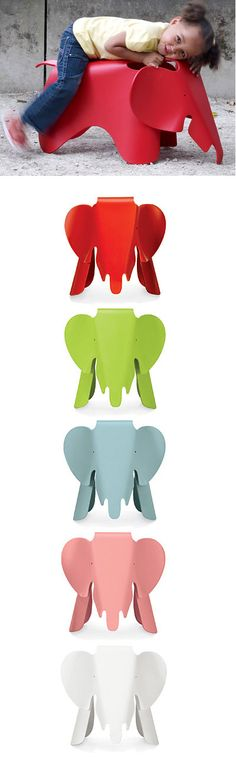 Playroom - Accessory: Vitra - Eames Elephant | Zinc Details - $365.00
