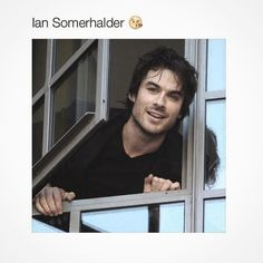 OMG yes....!!!! He is so cute.!!  #iansomerhalder #Hot #Cute #love #Life #mcm by http.the70s