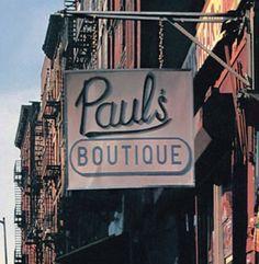 BEASTIE'S PAUL'S BOUTIQUE ALBUM COVER DETAIL