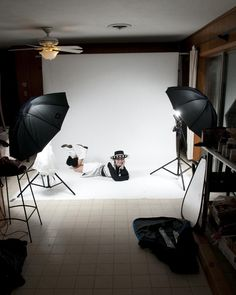 in home photography studios | Home studio setup