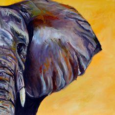 elephant oil pastel - Google Search #OilPaintingElephant