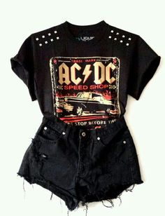 AC DC outfit